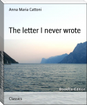 The letter I never wrote