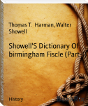Showell'S Dictionary Of birmingham Fiscle (Part-I)