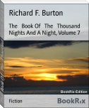 The   Book Of   The   Thousand Nights And A Night, Volume 7