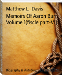 Memoirs Of Aaron Burr, Volume 1(fiscle part-VI)