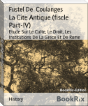 La Cite Antique (fiscle Part-IV)