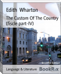 The Custom Of The Country (fiscle part-IV)