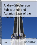 Public Lands and Agrarian Laws of the Roman Republic