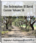 The Redemption Of David Corson Volume 56