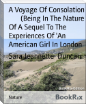 A Voyage Of Consolation        (Being In The Nature Of A Sequel To The Experiences Of 'An        American Girl In London