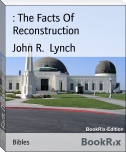 : The Facts Of Reconstruction