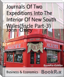 Journals Of Two Expeditions Into The Interior Of New South Wales(fiscle Part-3)