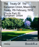 The   Treaty Of   The   European Union, Maastricht Treaty, 7th February, 1992 (Fiscle Part-9)
