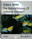The Natural History Of Selborne, Volume 1 (Fiscle Part-9)