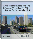 American Institutions And Their Influence (Fiscle Part 3) Of 2