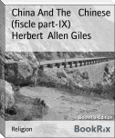 China And The   Chinese (fiscle part-IX)