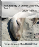 An Anthology Of German Literature, Part 2