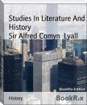 Studies In Literature And History