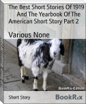 The Best Short Stories Of 1919        And The Yearbook Of The American Short Story Part 2