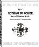 BIBLE OF NOTHING, BIBLE OF EMPTINESS