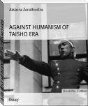 AGAINST HUMANISM OF TAISHO ERA