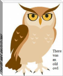 THERE WAS AN OLD OWL...