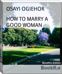 HOW TO MARRY A GOOD WOMAN