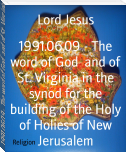 1991.06.09 - The word of God  and of St. Virginia in the synod for the building of the Holy of Holies of New Jerusalem