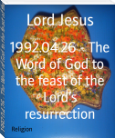 1992.04.26 - The Word of God to the feast of the Lord's resurrection