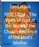 1992.12.04 - The Word of God at the feast of the Church Entrance of the Lord's Mother