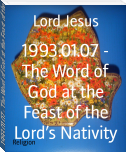 1993.01.07 - The Word of God at the Feast of the Lord's Nativity