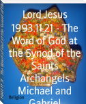 1993.11.21 - The Word of God at the Synod of the Saints Archangels Michael and Gabriel