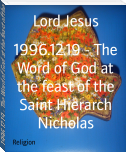 1996.12.19 - The Word of God at the feast of the Saint Hierarch Nicholas