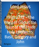 1998.02.12 - The Word of God at the feast of the Three Holy Hierarchs: Basil, Gregory and John