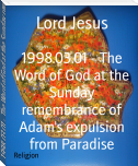 1998.03.01 - The Word of God at the Sunday remembrance of Adam's expulsion from Paradise
