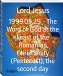1999.05.29 - The Word of God at the Feast of the Romanian Christianity (Pentecost), the second day