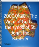 2000.01.20 - The Word of God at the synod of St. John, the Baptizer