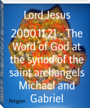 2000.11.21 - The Word of God at the synod of the saint archangels Michael and Gabriel