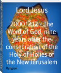 2000.12.12 - The Word of God, nine years after the consecration of the Holy of Holies of the New Jerusalem
