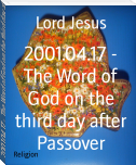 2001.04.17 - The Word of God on the third day after Passover