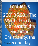 2001.06.09 - The Word of God at the Feast of the Romanian Christianity, the second day