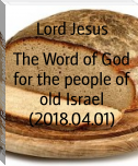 The Word of God for the people of old Israel (2018.04.01)