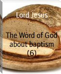 The Word of God about baptism (6)