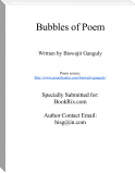 Bubbles of Poem
