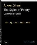 The Styles of Poetry