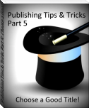 Publishing Tips & Tricks Part 5: Choose a Good Title!