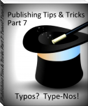 Publishing Tips & Tricks Part 7: Typos? Type-Nos!