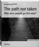 The path not taken