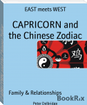 CAPRICORN and the Chinese Zodiac