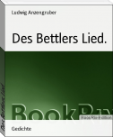 Des Bettlers Lied.