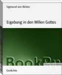 Ergebung in den Willen Gottes