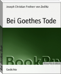 Bei Goethes Tode