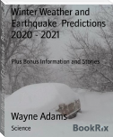 Winter Weather and Earthquake  Predictions 2020 - 2021