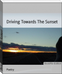 Driving Towards The Sunset
