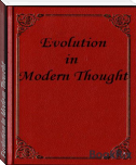 Evolution In Modern Thought